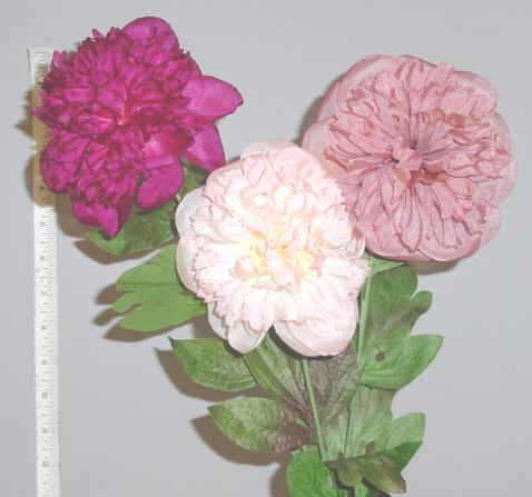 Peony -- second best only to mother nature handcrafted in Germany home d