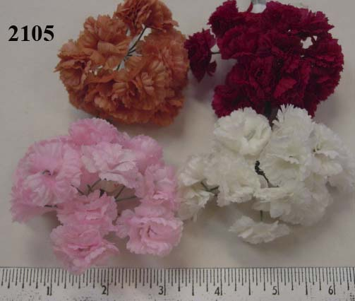 Mini Carnation bunch by 12