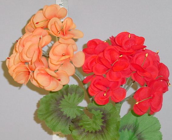 Geranium millinery supply