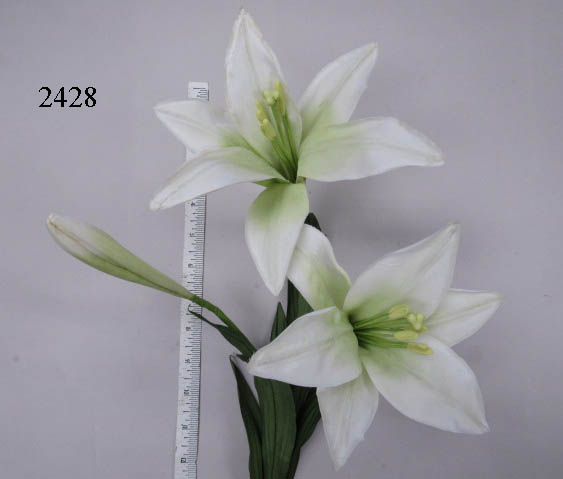 Easter Lily by 2 & Bud