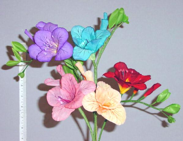 Freesia -- natural looking crafted in Germany for interior design