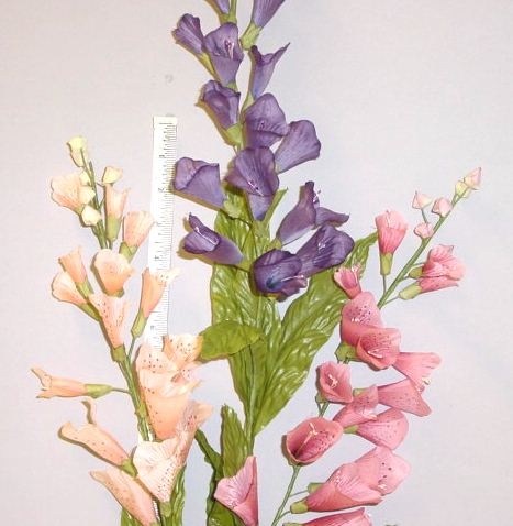 Foxglove millinery supply