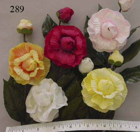 Camellia & Bud  --  Handcrafted in Japan
