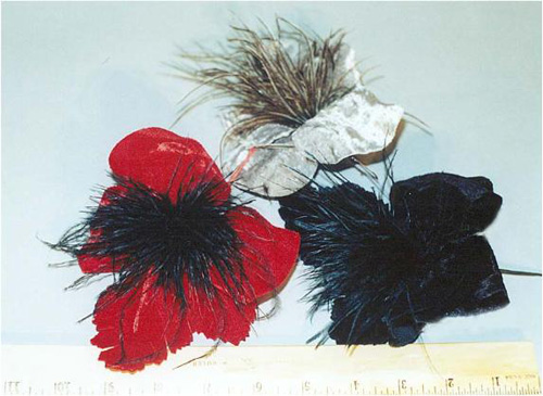 Feathered Flower for fascinators
