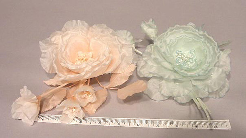 Silk Blossom and 3 Buds bridal or hair accessory