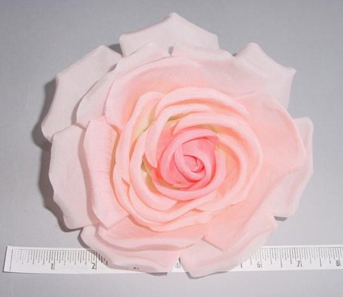 Large Silk Rose basic millinery supply trim