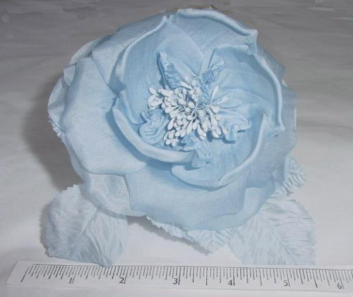 Open Silk Rose Pep Center church hat floer