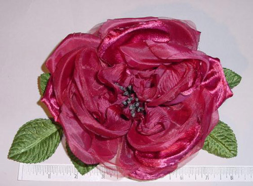 Large Rose millinery flower
