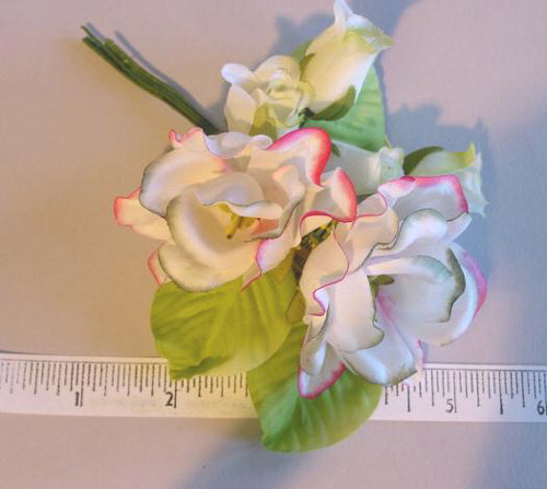 Gardenia Bouquet for manufactors of little girl dresses