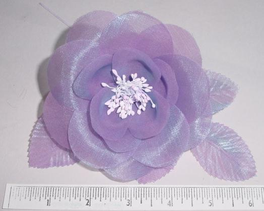 Glass Silk Blossom for children's dresses