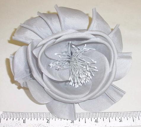 Silk Blossom with Pressed Edges millinry supply