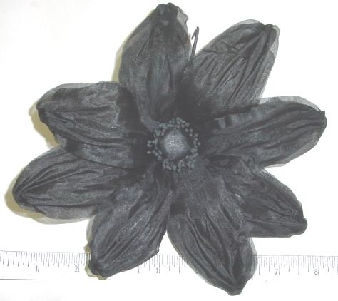 Large Double Petal Silk Stylized Sunflower perfect for flower pins