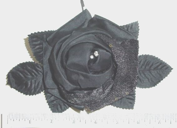 Large Blossom with Sequins & Rhinestones perfect flowr pin
