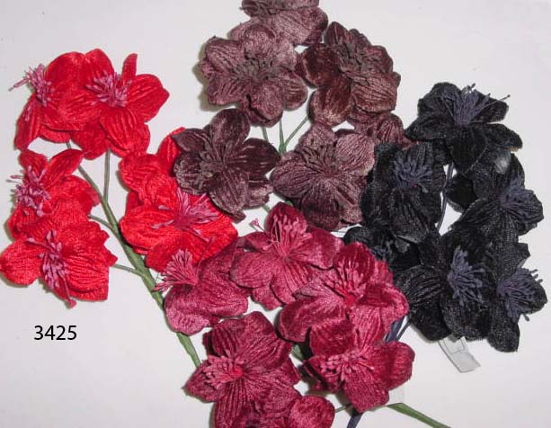 Velvet Blossom by 6 millinery supply or hair accessory