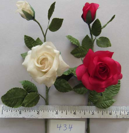 Small Rose & Bud
