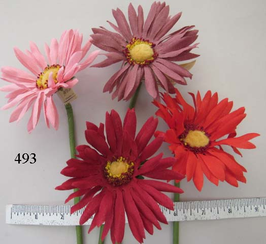 Vintage Gerbera Daisy made in Germany