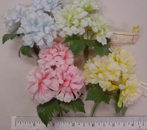 Vintage German Mini Hydrangea spray by 3 home d