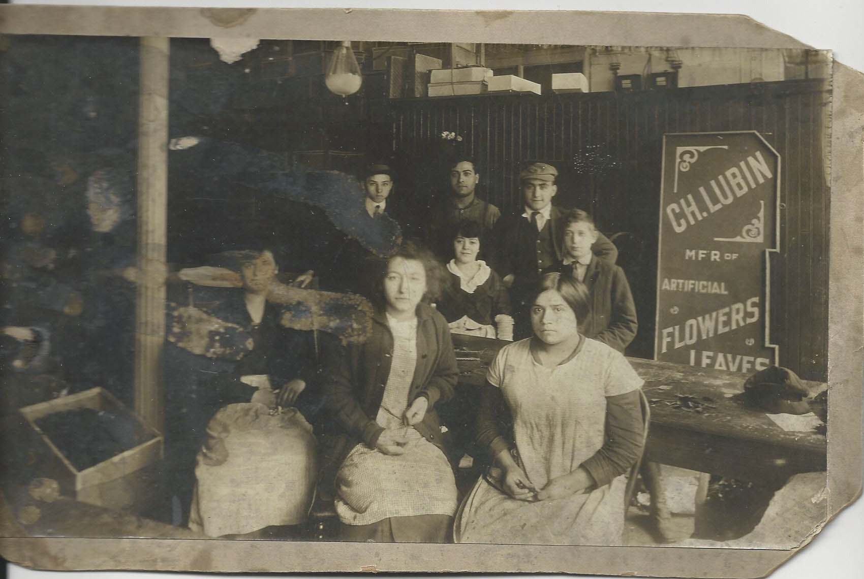 Picture from factory early 1900's